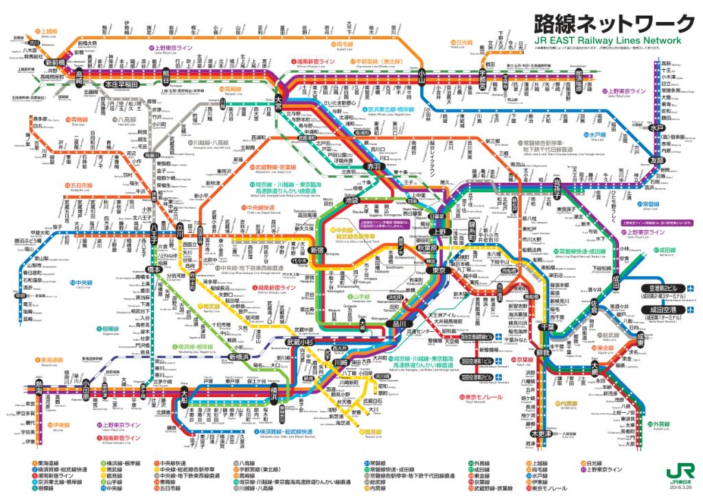 京浜東北線の路線図と時刻表や運行状況の情報│交通と旅の便利手帖