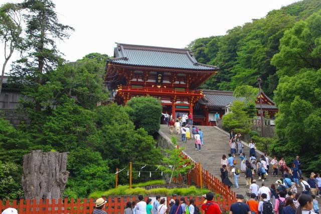 鎌倉のホテルや観光スポットと人気グルメ