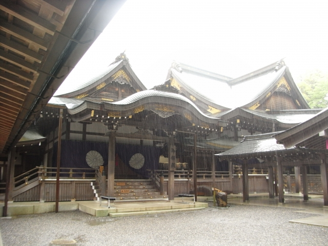 伊勢神宮のアクセスや地図と駐車場事情や観光スポット