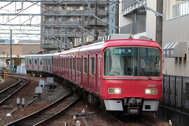 名鉄電車の路線図